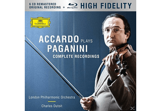 Salvatore Accardo, London Philharmonic Orchestra - Accardo Plays Paganini (Ltd.Edt.) - (CD + Blu-ray Disc)