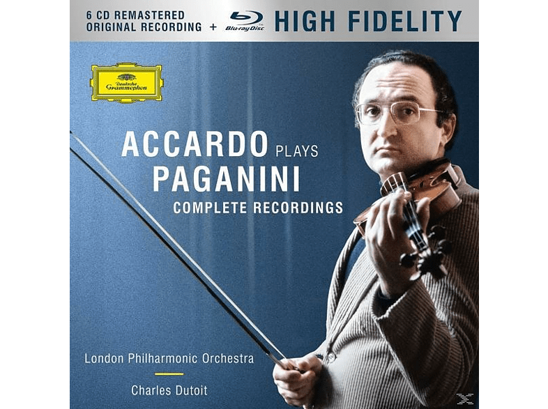 Salvatore Accardo, The London Philharmonic Orchestra - Accardo Plays Paganini (Ltd.Edt.) [CD + Blu-ray Audio]