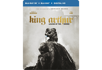 King Arthur: Legend of the Sword - Steelbook - Blu-ray
