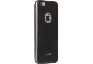 MOSHI iGlaze Napa Handyhülle, Onyx Black, passend für Apple iPhone 6, iPhone 6s Plus