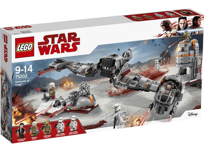 LEGO  Defense of Crait™ (75202) Bausatz | 05702016109962