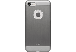 MOSHI iGlaze Armour Handyhülle, Gunmetal Grau, passend für Apple iPhone 7