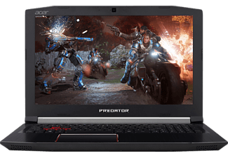 ACER Predator Helios 300 (PH317-51-7680), Gaming Notebook mit 17.3 Zoll Display, Core™ i7 Prozessor, 16 GB RAM, 256 GB SSD, 1 TB HDD, GeForce® GTX 1060, Schwarz