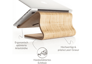 WOODCESSORIES EcoLift MacBook- und Notebookhalterung