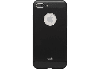 MOSHI iGlaze Armour Handyhülle, Onyx Black, passend für Apple iPhone 7 Plus