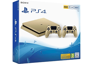 SONY PS4 500GB Slim Gold/Gold DS4/EAS Oyun Konsol
