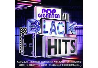 VARIOUS - Pop Giganten - Black Hits - (CD)