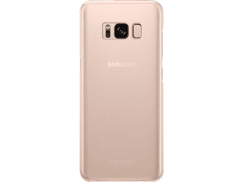 SAMSUNG Clear , Backcover, Samsung, Galaxy S8, Pink