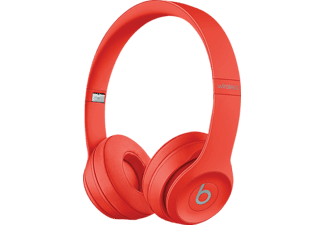 Auriculares inalámbricos - Apple Beats Solo3 Wireless, Bluetooth, Autonomía 40 h, Rojo