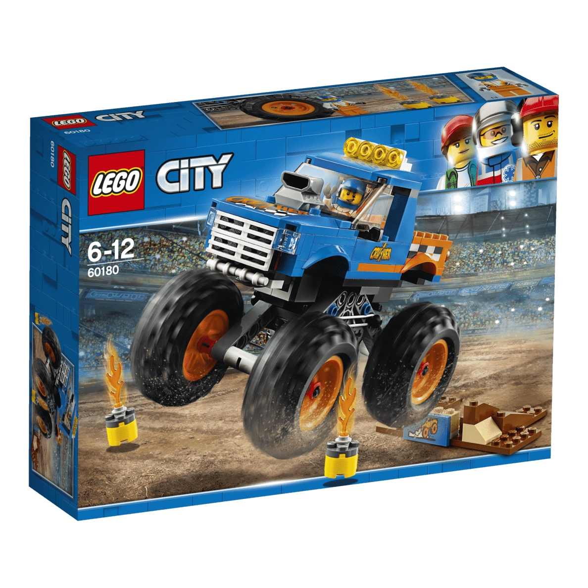 LEGO  Monster-Truck (60180) Bausatz | 05702016077490