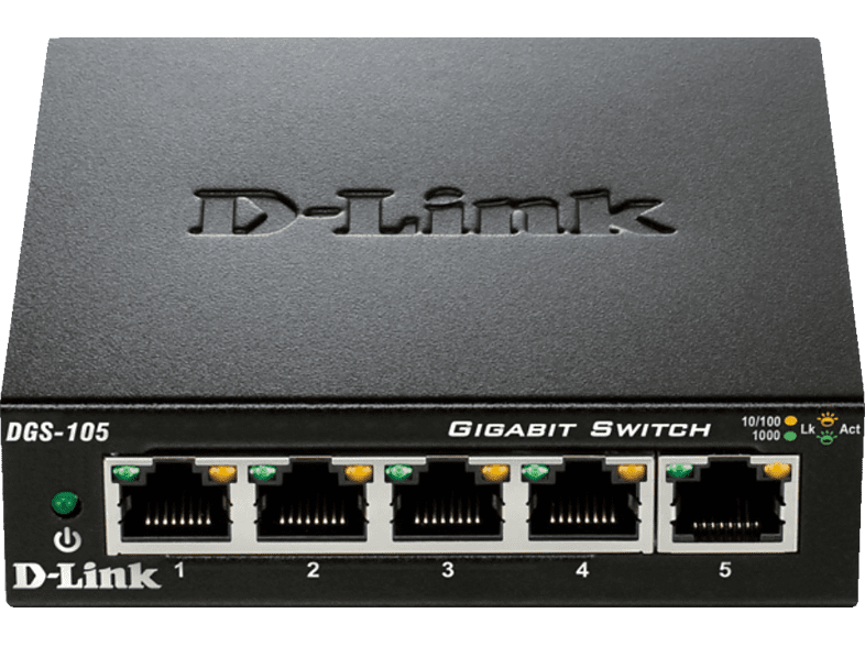 Desktop Switch D-LINK 5-Port Layer2 Gigabit 5