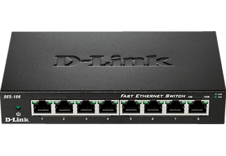 Desktop Switch D-LINK 8-Port Layer2 Fast Ethernet 8