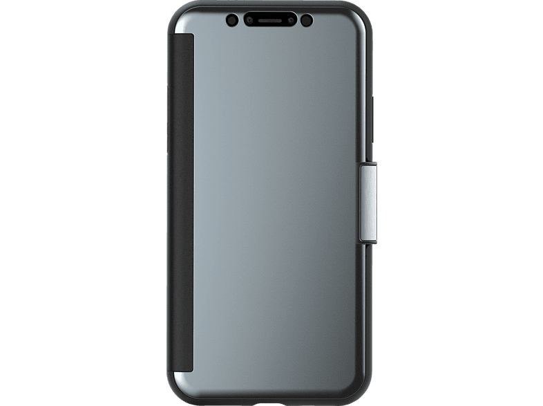 MOSHI Stealthcover  , Bookcover, Apple, iPhone X, Schwarz