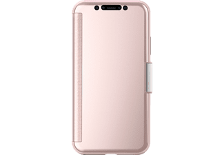 MOSHI Stealthcover Handyhülle, Pink, passend für Apple iPhone X