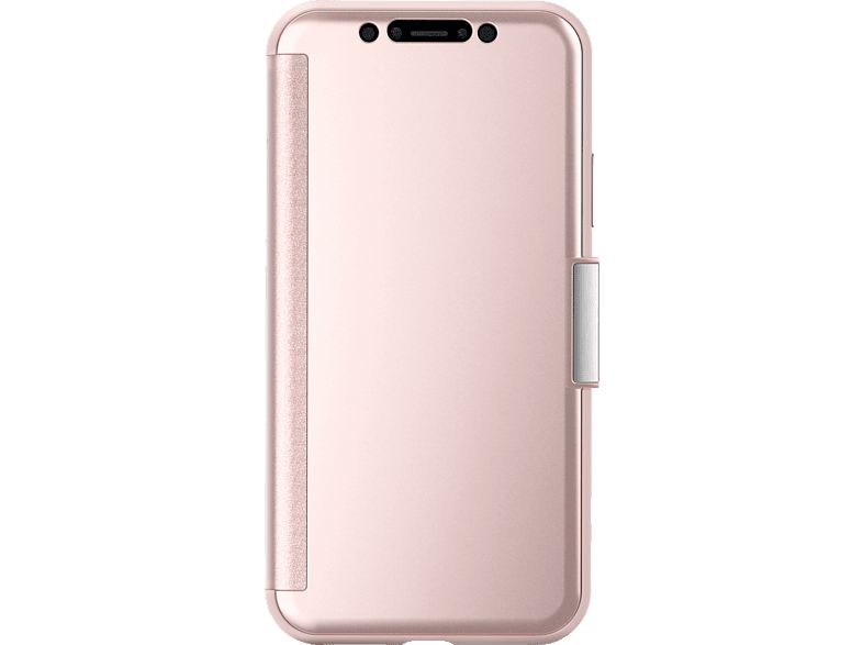 MOSHI Stealthcover  , Bookcover, Apple, iPhone X, Pink