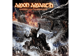 Amon Amarth - Twilight Of the Thunder God-180g Black Vinyl - (Vinyl)