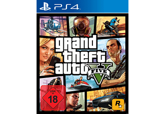 GTA 5 - Grand Theft Auto V - PlayStation 4