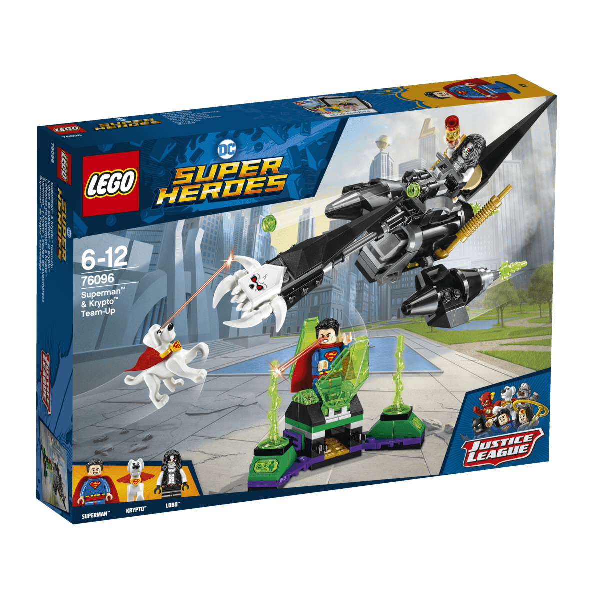 LEGO Superman™ & Krypto™ Team-Up (76096) Bausatz