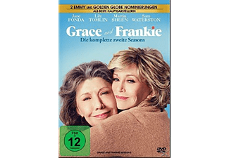 Grace and Frankie - Die komplette zweite Season (4 Discs) - (DVD)