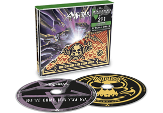 Anthrax - We've Come For You All/The Greater Of Two Evils (CD)