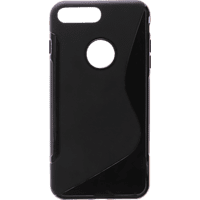 V-DESIGN PIC 051 , Backcover, Apple, iPhone 7 Plus, Thermoplastisches Polyurethan, Schwarz