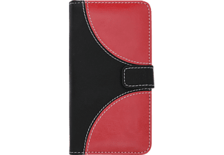 V-DESIGN NFC 139 Bookcover Apple iPhone 8/7 Kunstleder Rot/Schwarz