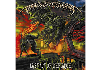 Seasons Of The Wolf - Last Act Of Defiance - (CD)