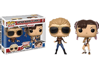 POP! Games: Captain Marvel vs Chun-Li