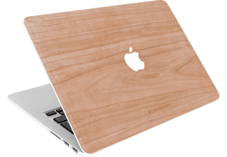 WOODCESSORIES EcoSkin Notebookhülle, Backcover, 15 Zoll, Kirschholz