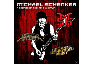 Michael Schenker - A Decade Of The Mad Axeman - (CD)