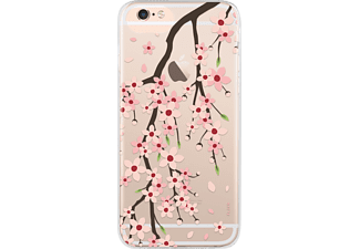 FLAVR IPLATE CHERRY BLOSSOM Handyhülle, Transparent, passend für Apple iPhone 6, iPhone 7, iPhone 8