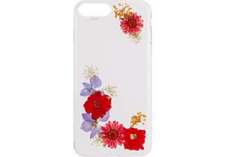 FLAVR iPlate Flower Amelia Handyhülle, Transparent, passend für Apple iPhone 6, iPhone 6s, iPhone 7, iPhone 8