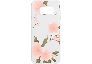 FLAVR IPLATE HIBISCUS Galaxy S8 Handyhülle, Transparent