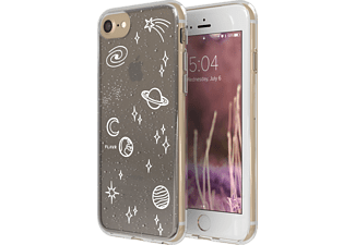 FLAVR iPlate Cosmic Happening Handyhülle, Transparent, passend für Apple iPhone 6, iPhone 6s, iPhone 7, iPhone 8