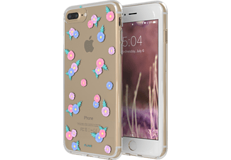 FLAVR IPLATE TINY FLOWERS Handyhülle, Transparent, passend für Apple iPhone 6 Plus, iPhone 7 Plus, iPhone 8 Plus