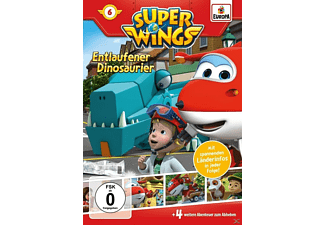 Super Wings - Entlaufener Dinosaurier - (DVD)