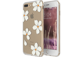 FLAVR iPlate White Pearls Handyhülle, Transparent, passend für Apple iPhone 6, iPhone 6s, iPhone 7, iPhone 8