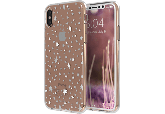 FLAVR IPLATE STARRY NIGHTS Handyhülle, Transparent, passend für Apple iPhone X