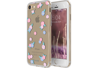 FLAVR IPLATE TINY FLOWERS iPhone 6, 7, 8 Handyhülle, Transparent
