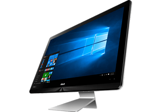 ASUS ZN220ICUK-RA050T, AIO-PC mit 21.5 Zoll, LED-Backlight, Glare Type Display, 1 TB Speicher, 8 GB RAM, Core™ i5 Prozessor, Quartz Grey