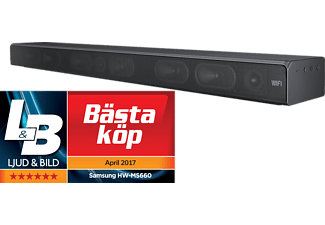 SAMSUNG HW-MS660 All-in-One Soundbar - Svart