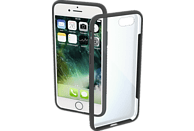 HAMA Frame Backcover Apple iPhone 7, iPhone 8 Polycarbonat/Thermoplastisches Polyurethan Grau