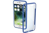 HAMA Frame Backcover Apple iPhone 7, iPhone 8 Polycarbonat/Thermoplastisches Polyurethan Blau/Transparent