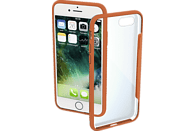 HAMA Frame Backcover Apple iPhone 7, iPhone 8 Polycarbonat/Thermoplastisches Polyurethan Orange/Transparent