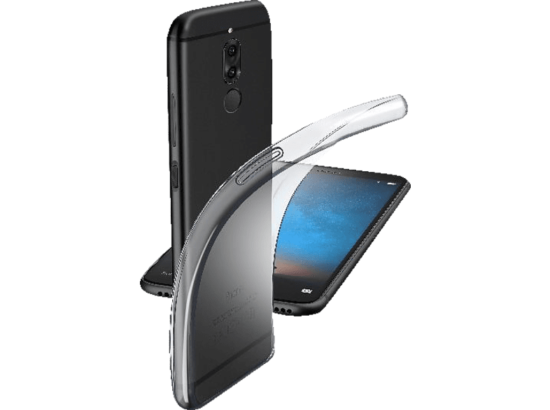 CELLULAR LINE Fine , Backcover, Huawei, Mate10 Lite, Thermoplastisches Polyurethan, Transparent