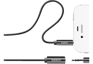 BELKIN Mix-It Audio-Kabel, passend für Universal Universal, Schwarz