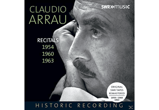 Claudio Arrau - Recitals 1954,1960,1963 - (CD)