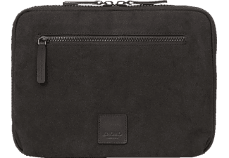 KNOMO Fulham Knomad Zip Around Folio Notebookhülle, Sleeve, 12 Zoll, Schwarz