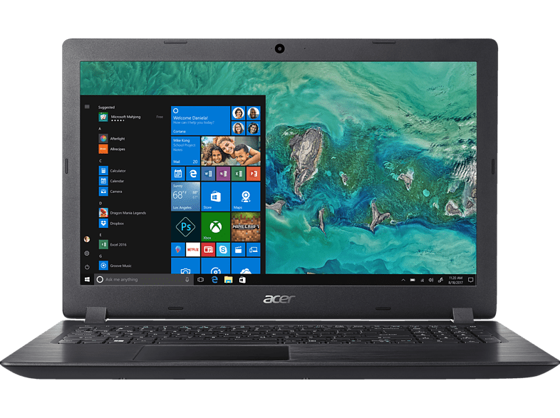 [mediamarkt.at] ACER Notebook Aspire 3 (A315-51-39US) um 369€ anstatt 429€