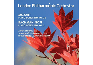 The London Philharmonic Orchestra - Mozart  & Rachmaninoff  | Piano Concertos - (CD)